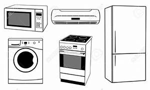 Microwave clipart black and white 7 » Clipart Station