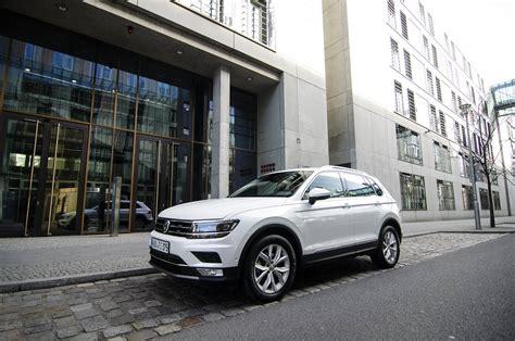 volkswagen tiguan white 2016 2017 volkswagen tiguan city test a weekend in berlin