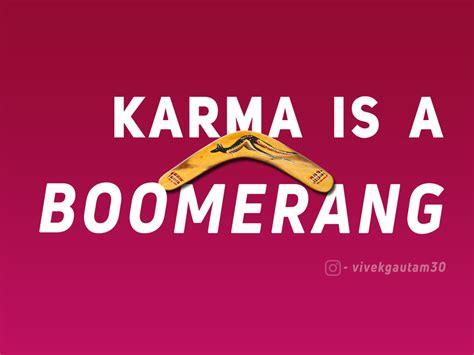 karma give getting
