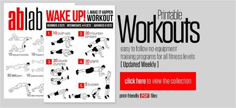 to follow card by corina free printable workout from neila thinspiration