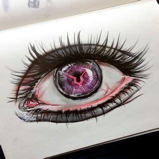 drawing realistic lelouch  eye  codegeass