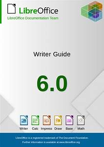 Libreoffice 6 0 Writer Guide