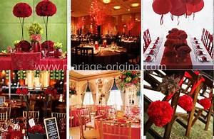 Deco Mariage Rouge Et Blanc Pas Cher : un mariage en rouge et blanc lovely day ~ Dallasstarsshop.com Idées de Décoration