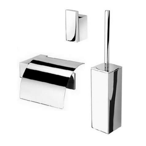 toilet accessoires geesa geesa modern art toiletset closetrolhouder met klep