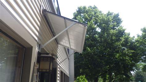 austin standing seam door awning