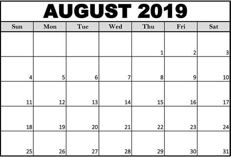 printable august  calendar cute magic calendar