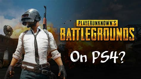 Player Unknown´s Battlegrounds On Ps4?