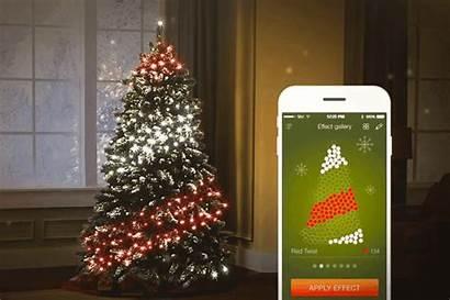 Twinkly Christmas Lights Smart Led Lighting Tree