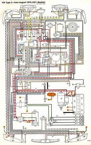 1972 volkswagen type 3 wiring diagram  metawirediagrams