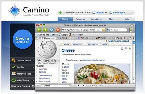 camino browser 14 alternative browsers that are not ie6