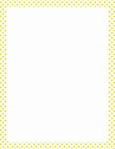 Pink And White Polka Dot Border Clip Art (54+)