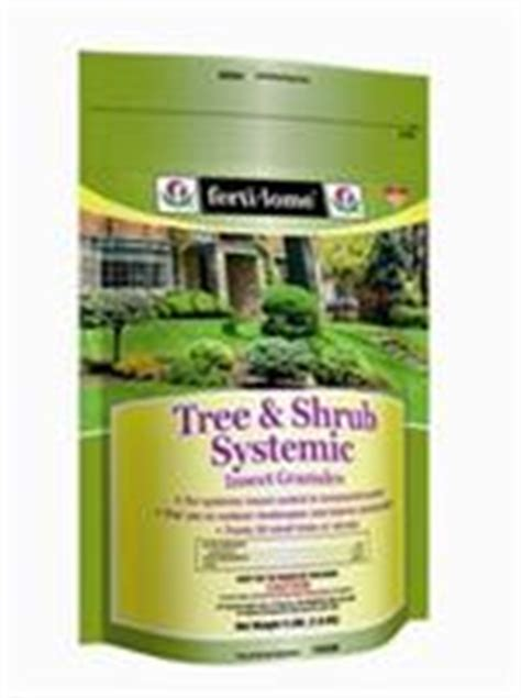 apply tree  shrub systemic insect granular