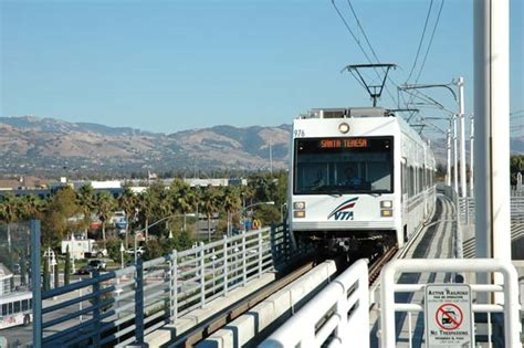 vta light rail footloose and car free in the bay area bay nature
