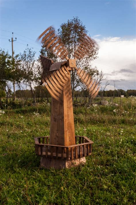 wooden garden windmill diy pinterest garden windmill
