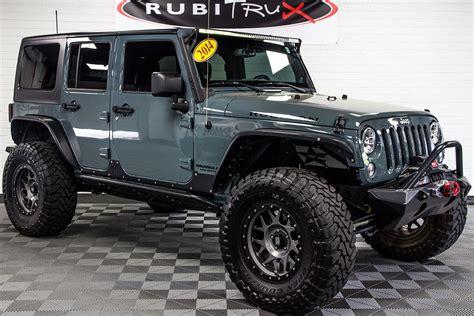 jeep jku rubicon pre owned 2014 jeep wrangler rubicon unlimited anvil