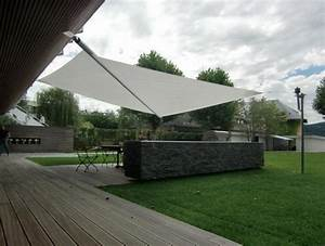 Toile Tendue Terrasse. awesome bache soleil terrasse ideas design ...
