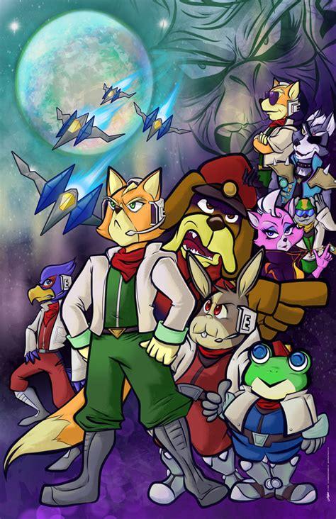 Star Fox By Geeksnextdoor On Deviantart
