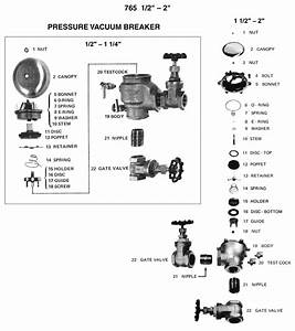 32 Backflow Preventer Parts Diagram