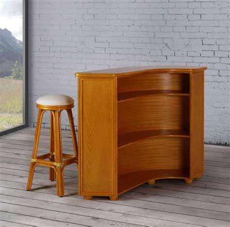 bureau couleur miel meuble bar en rotin brin d 39 ouest