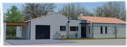 maison moderne plain pied 4 chambres maison semi contemporaine plain pied 4 chambres à