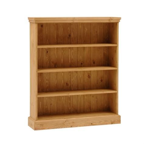 extra shelves for bookcase dorchester pine extra wide 4ft bookcase 4 shelves m259