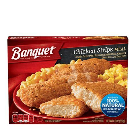 chicken strips meal banquet