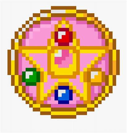 Pixel Moon Sailor Minecraft Pumpkin Clipart Clipartkey