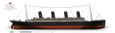 rms olympic profile 1914 by alotef on deviantart