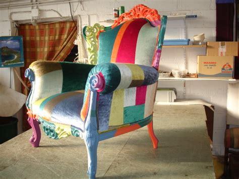 tapissier rouen fauteuil patchwork jplecomte tapisserie