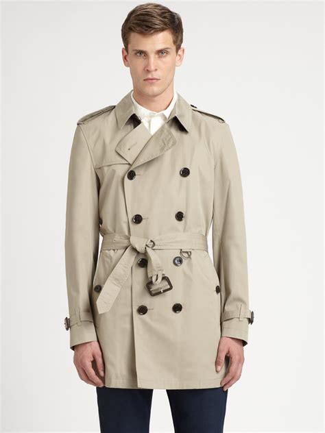 90016954968 2000 x 2667 lyst.com. Lyst - Burberry Brit Britton Double Breasted Trench  Coat .