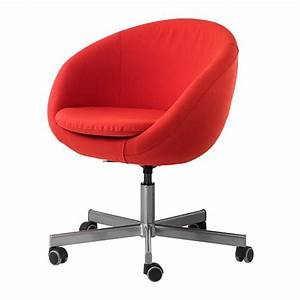 Siege Bureau Ikea : skruvsta chaise pivotante vissle rouge orange ikea ~ Preciouscoupons.com Idées de Décoration