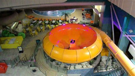 waterslide space bowl  butlins waterpark youtube