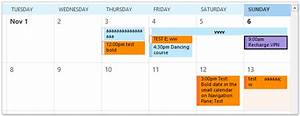 Html Kalender Code : how to color code appointments in outlook calendar ~ Markanthonyermac.com Haus und Dekorationen