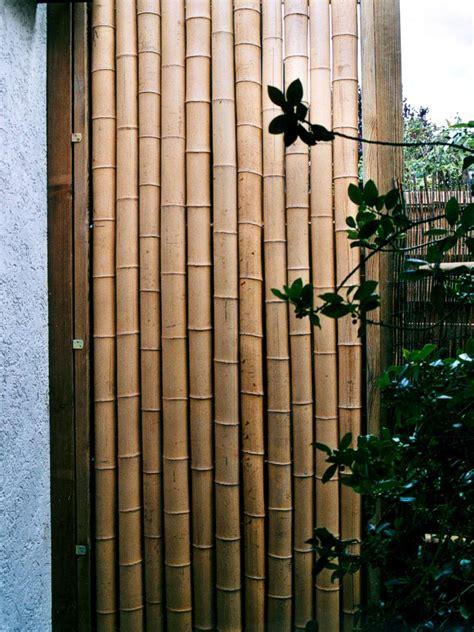 Sichtschutz Garten De by Bambus Element Als Sichtschutz Haufler Baumschule Und