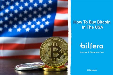 Provide your bitcoin wallet address and make a payment. How To Buy Bitcoin In The USA - Bitfera