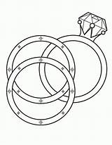 Coloring Pages Ring sketch template