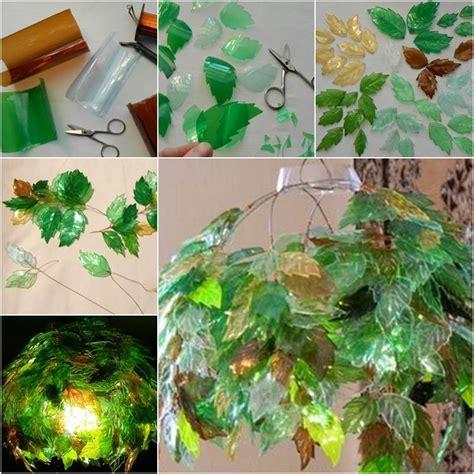 diy unique chandelier  plastic bottles