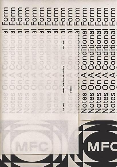 1975 Conditional Notes Form Album Poster Artwork