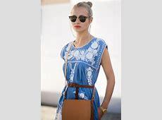 Beauty By Design Street Style Blog White summer kaftan