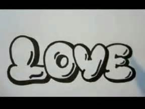 Graffiti Word Love