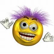 Crazy Face Emoticon                                         Crazy Face Clip Art