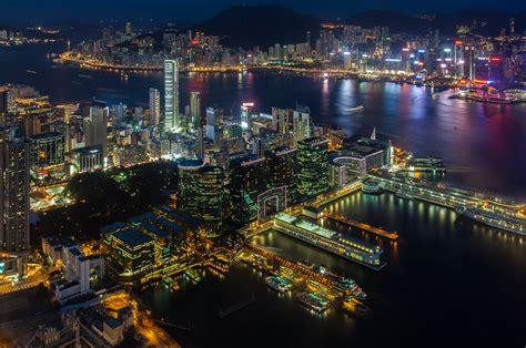 victoria harbour  hong kong hd wallpapers wallpaperscom