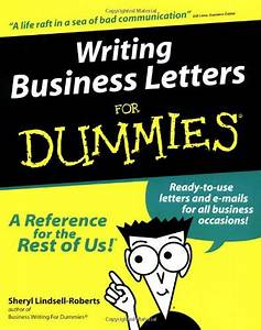 Formal application letter for Letter writing for dummies