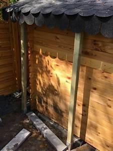Schleppdach Selber Bauen : unterbau gartenhaus unterbau terrassenplatten gartenhaus ~ Michelbontemps.com Haus und Dekorationen
