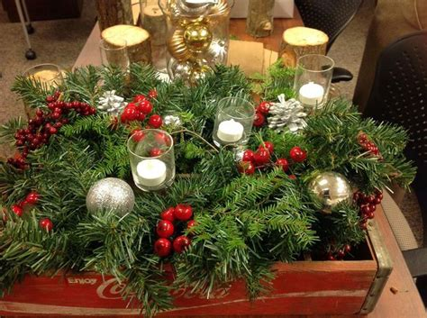17 Best Images About Christmas Centerpieces On Pinterest Corner Bench Table Set Bar And Stool Sets Alter Default Value Kitchen Counter Height Drafting Pub White Glass Dining Traditional Wedding Setting