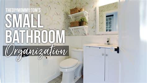 organization diy home decor challenge powder room