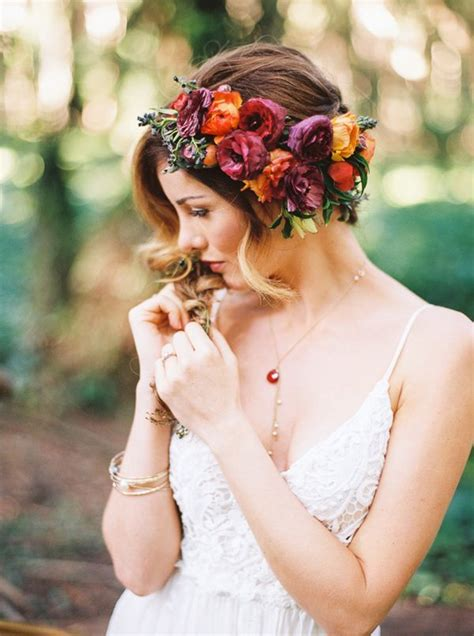 17 Best Images About Flower Crowns On Pinterest Her Hair