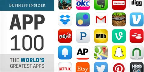 100 Best Apps For Iphone And Android  Business Insider