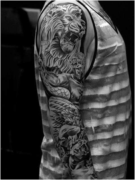 Geometric Mens Pattern 3d Sleeve Tattoo Ideas#TattooSleeves , click for more.   Sleeve tattoos