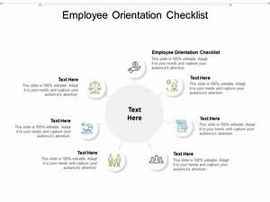 Employee Orientation Checklist Ppt Powerpoint Presentation